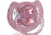 Baby Bling / Bling-bling for babies that shine. No such thing as over the top, bring on those carats!