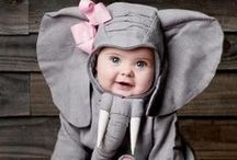 Baby Costumes / Babies dressed up as animals. Is there anything cuter? Sharing inspirational baby clothes and styles.