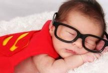 Future superheroes / Outfits for the little baby batman. Superhero and cartoon themed baby clothes and styles.