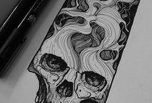 dessine moi un mouton, un crâne, une pieuvre...