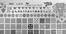 Plaques stamping APIPILA / Plaques de stamping APIPILA et BETINA