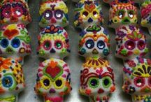 Sugar Skull Molds / MexicanSugarSkull.com is the creator of the sugar skull molds that are used around the world to celebrate Day of the Dead.