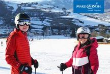 Holiday wishes / A holiday can be a real turning point for children who are seriously ill. A break offers a chance to get away from it all and experience exciting new places. It can also be a much-needed opportunity to relax for the whole family. Our wish families jet off all over Europe - from the slopes of Austria, to the beaches of Portugal.