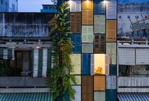 Vegan House / Architects: Block Architects Location: Dist.3, HCMC., Vietnam. Area: 60 sqm Year: 2014