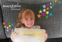 The wish pack arrives! / Before every wish, a child will receive a 'wish pack' filled with everything they need.  From money to maps, itineraries, tickets and badges - a wish pack's arrival is the start of the magical wish adventure!