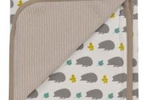 Organic Baby Blankets / Soft, adorable baby and toddler accessories such as blankets and swaddle blankets, all made form 100% organic Fairtrade fabrics. A perfect way to keep your baby or toddler cosy and snug and a stylish accessory for any pram or nursery.