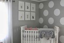 Baby Nursery Decor / Adorable and cute nursery decor ideas and inspiration.