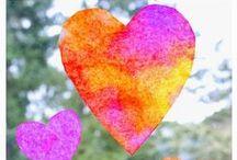 Valentine's crafts & valentines treats for kids
