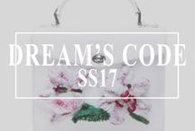 Dream's Code 2017 - All bags / #DreamsCode #FlowerInTheWind #luxurybrand #emergingdesigner #accessories #bags #backpacks #handbags #clutch #leather #embroidery #sustainable #ethical #womanstyle #AW16 #craftmanship #madeinengland