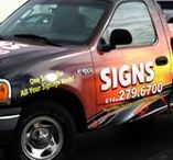 Wrap Your Vehicle - Business | Pleasure / Create the most stunning mobile marketing machine ever! Call Custom Sign Center for your quote to wrap your car, truck or van. Do a partial wrap, cut lettering or a full custom design!