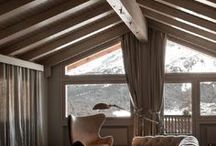 Dream Homes - Ski Chalet Interiors / Here at TheHouseShop we all have a dream home in mind, so we decided to indulge ourselves, with showcasing the best ski chalet interior design we could find.  With the snowy weather and warm wood interiors, it's the perfect escape from the elements. We wish we could snuggle up inside one of these spectacular chalets and cabins.  Read our blog post here: https://www.thehouseshop.com/property-blog/dream-homes-the-ultimate-ski-chalet/10316/
