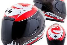 Scorpion Helmets / All About the Motorcycle Helmets ! www.importationsthibault.com