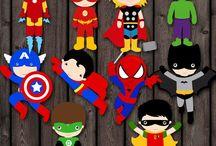 Festa Super Heróis / Inspirações para festa infantil, na escola, com o tema da Liga da Justiça