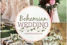 Bohemian Weddings / Bohemian Wedding Inspiration, Styles, Jewelry, Decor and More