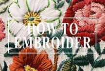• H O W   T O   E M B R O I D E R • / Guide to embroidery from start to finish  #embroidery #howto #DIY #embroideryguide