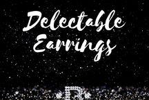 Delectible Earrings / Fashionable Women's Earrings
