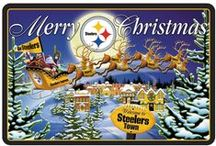 Steelers Football / My Wife & I were both raised in the area and the Pittsburgh Steelers are the only team we claim as avid fans, even when we were living in Tulsa, OK. We have finally moved back to the Pittsburgh, PA area, and resettled in our old home stomping grounds. / by Frank McGurer