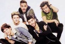 One Direction / Niall, Harry, Louis, Liam, and Zayn. Directioner for life! / by Alexa Dougherty