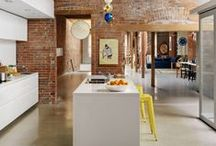 Kitch. / country kitchens with modern twists.