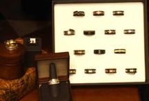 Mens Bands / Contemporary metals and your traditional Gold. We have it all!!