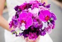 Radiant Orchid Wedding / PANTONE Color of the Year 2014 - Radiant Orchid wedding inspiration