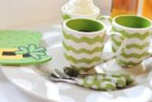 Shades of Green for St Patrick's Day / great products for St. Patricks day