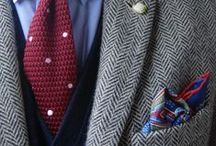 Men's Ties and Pocket Squares / Men's latest in tie and pocket square fashions / by de Cervantes