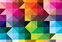 #Couleurs / Tableau d'inspiration couleurs, cahier de tendance. #couleur #colors #color #couelur #coueleur