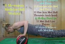 Medicine Ball Workouts / Work out with medicine balls - fun and versatile pieces of equipment!