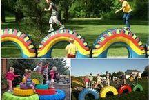 scool playground / Ιδέες για παιδαγωγική διαμόρφωση αυλής σχολείου