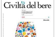 Le nostre copertine / Tutti i numeri di Civiltà del bere in edicola e in formato digitale. Per acquistarli http://www.civiltadelbere.com/arretrati/