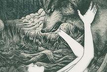 tattoosketches wolf
