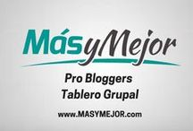 Pro Bloggers | Blogging, SEO, Marketing y Social Media / Tablero destinado a impulsar colegas bloggers a lograr un estilo de vida próspero. Las reglas son: 2 pins por día y tienes que compartir un Pin de nuestros colegas. Marketing online | Social media business | SEO | how to start a blog | Pinterest Marketing | Extreme blogging, entrepreneur | make money blogging | haz dinero desde casa | email marketing | desarrollo personal. ¡NO SPAMMING!