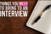 Interviewing & Professionalism... / by Career Development