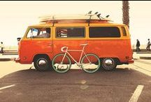 VW Campervan / If we can't buy one, we'll rent one and I just peek at this board for instant happiness.