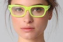 Eyeglasses  / by Papatsara Dabbaransi