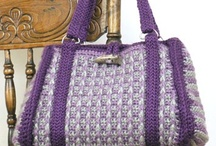 crochet handbag and purses