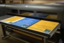 Projects on the Press / Behind-the-scenes photos of Digital, Wide Format and Offset Printing at R.C. Brayshaw & Company.