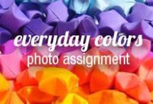 Everyday Colors | Photo Assignment / We live in a colorful world with colorful people. Show us your true colors by tagging your Pixily album #everydaycolors