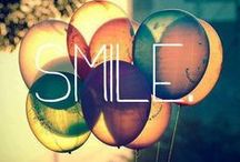 """""""Smile"""" / A pinboard for those who never need a reason to smile."""