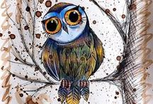 Owls- the simbols of wisdom