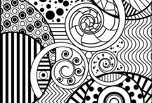 Adult coloring pages and printables