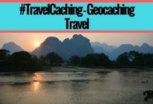 Geocaching Travel - #TravelCaching / Post pictures of you and your family on GeoTours and GeoTrails around the country and around the world.  Geocaching outside you hometown #TravelCaching