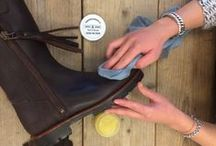 C A R E - A B O U T - S H O E S / A couple of tips about how you can clean your boots.