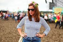 Festival Fashion #Style / With festival style icons such as Alexa Chung and Kate Moss showing us that it is possible to put together a capsule wardrobe that's as stylish as it is practical, here's a little inspiration to get you through the festival season.