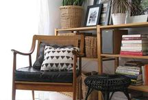 Interior Ideas / Scandinavian and bohemian style will dominate my interior idea's board. Luv it so much.