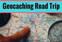 Geocaching Road Trips / Geocaching and road trips go together.  Geocaching is great for family ideas, getting kids outside, geocaching ideas, geocaching travel, and much more.