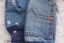 OldJeans/ Denim / Articles made from old jeans/ denim.
