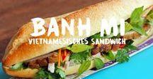 Banh Mi - Sandwich a la Vietnam / Banh Mi sind leckere Sandwich aus Vietnam