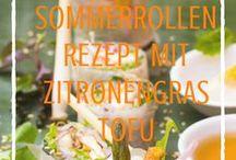 Sommerrollen | Frühlingsrollen Rezepte